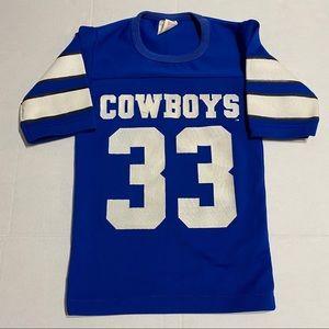 Vintage 80s Dallas Cowboys Tony Dorsett #33 Jersey
